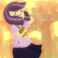 twilight sparkle by cesarasdf