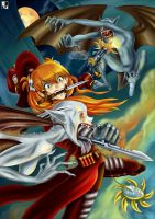 Asuka the Vampire Slayer by Lord--Opal