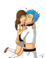 trade: Grimmjow and Chihiro by feerl