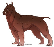 I think it's a Hippogon by Triple-Torch-Art