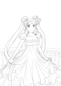 Princess Serenity by Mr-Spriken