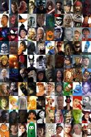 Top 100 characters by villainsprofile