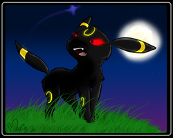 Umbreon by MimiMarieT