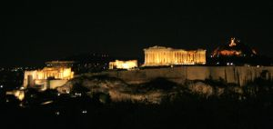 Acropolis at Night by Phate1596