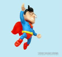 Ronald as Superman by Dinuguan