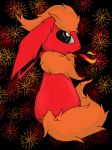 Flareon by Adorabloodkarkitty