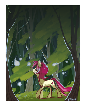 luck and fae lights. by GoatSocks