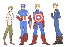 Cap through the ages by meixx