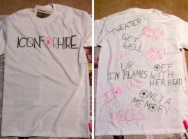 Icon For Hire T-shirt by iluvtssatl