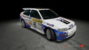Ford Escort RS Cosworth Rally by OutcastOne