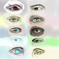 A World Of Eyes by ShadowJade120008