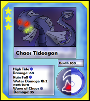 Chaos Tideagon Card (Adopt) by Dianamond