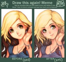 Before and after Coco ^^ by darax