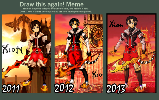 Xion Before and After by Lan2007