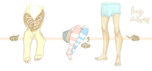 Leg Adopts 1 -Softie Edition- .:Closed:. by Pieology