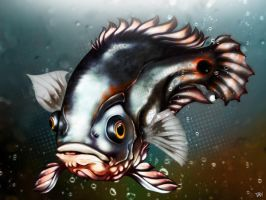 OSCAR MUTANT FISH by tabolacci