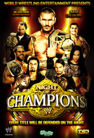 WWE NIGHT of CHAMPIONS (un-official poster2) by TheIronSkull