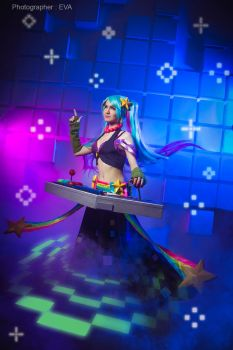 LEAGUE OF LEGENDS [Arcade Sona] 2 by Akaomy