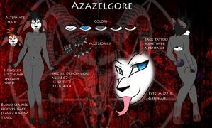 New Azazelgore Ref by TheHuntingWolf