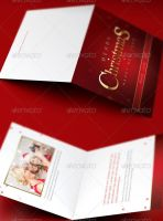 Family Christmas Greeting Card Template by loswl