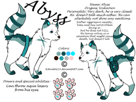 Abyss ref sheet by RippedMoon