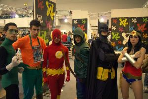 JLA by Mcjustwannahavefun