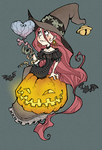 .VALENTINE WITCH AND COLOURS. by vincentbatignole