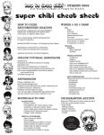 How to Chibi Cheat Sheet by Tsubasa-No-Kami