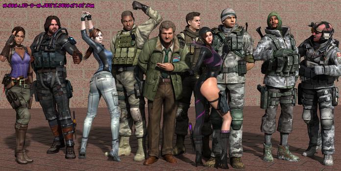 BSAA Finest by Nabriales-D-Majestic