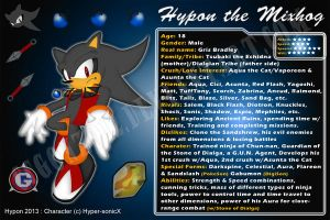 Bday Gift: Hypon the Mixhog ID by CCgonzo12