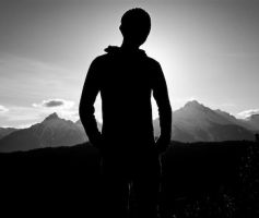 MountainBackdrop Silhouette ID by rachapunk