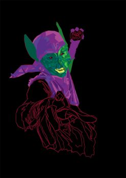 Green Goblin WIP by Puly1333