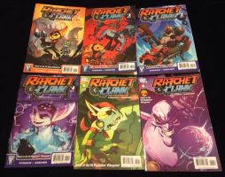 Ratchet and Clank comic books by Prince5s