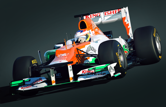 Paul Di Resta - Force India by LyriquidPerfection