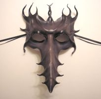 Long Nose Leather Mask, Greys by teonova