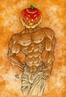 Pumpkin's Peter in colour by Gib-Art-and-Pinups