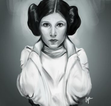 May The 4th - Princess Leia by sylessae