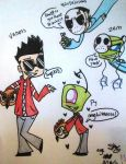 vanoss and h20delirious meet zem and pj by Zeemmy99