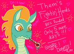 FINAL COUNTDOWN! | Tianhuo | Them's Fightin' Herds by foxgirlKira