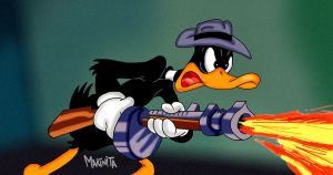 Duck Twacy shoot em up by Makinita