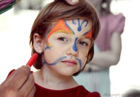 Face painting by LiGiK