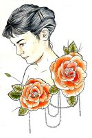 amelie poulain tattoo design colour by ziuuziuu