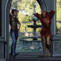Who's checking out who? by Luddox