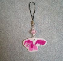 MLP Confused PinkiePie Cellphone Charm FOR SALE by AmyAnnie14