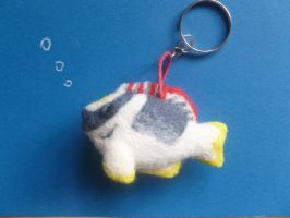Needle Felted Fish Commission by Sarsie