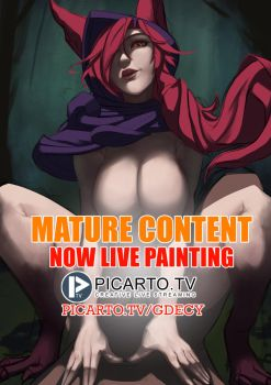NOW LIVE PAINTING ON PICARTO.TV 19/06/2017 by GDecy
