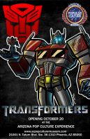 The Transformers Pop Culture Experiance by Laserbot