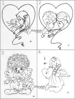 Valentine's Day sketches by Katerina-Art