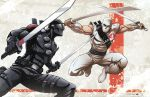 Snake eyes v.Storm shadow by Dan-the-artguy