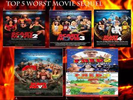 My Top 5 Worst Sequels by Toongirl18